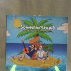 CDs de Música: YUL BALLETEROS & GERMÁN LÓPEZ - SOMETHIN STUPID (DIGIPACK. ESPAÑA, 2011) [FIRMADO POR LOS AUTORES]. Lote 56007140