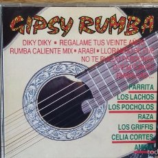 CDs de Música: GIPSY RUMBA / VARIOS ARTISTAS-LEER. CD / PERFIL - 1991. 15 TEMAS / CALIDAD LUJO.. Lote 56007988
