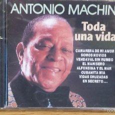 CDs de Música: ANTONIO MACHÍN. TODA UNA VIDA. CD / DIVUCSA - 1990. 14 TEMAS / PRECINTADO.. Lote 56009714