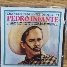 CDs de Música: PEDRO INFANTE. GRANDES CANCIONES DE MÉXICO. CD / DIVUCSA - 1990. 16 TEMAS / PRECINTADO.. Lote 56010194