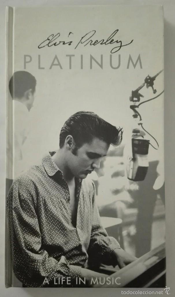 elvis presley platinum libro cd (4 cd´s / 48 pa - Comprar CDs de ...