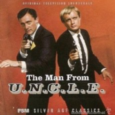 CDs de Música: THE MAN FROM U.N.C.L.E VOL.1 / JERRY GOLDSMITH, SCHIFRIN, FRIED... 2CD BSO - FSM. Lote 56013887