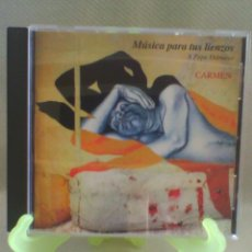 CDs de Música: CD MÚSICA PARA TUS LIENZOS A PEPE DÀMASO - CARMEN. Lote 56014204