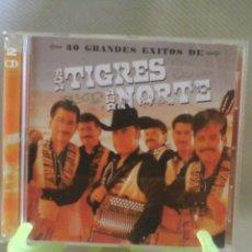 CD de Música: CD DOBLE LOS TIGRES DEL NORTE - 30 GRANDES ÉXITOS. Lote 56014307