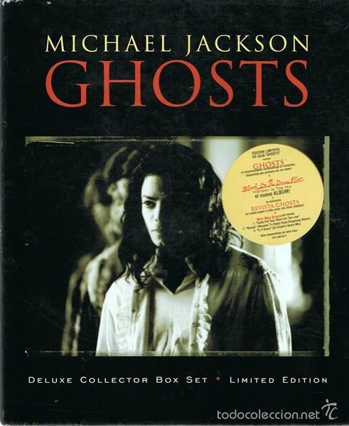 MICHAEL JACKSON ¨GHOSTS¨ DELUXE COLLECTOR BOX SET EDICIÓN LIMITADA (Música - CD's Pop)