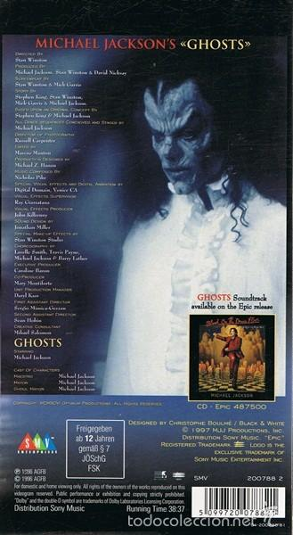 CDs de Música: MICHAEL JACKSON ¨GHOSTS¨ DELUXE COLLECTOR BOX SET EDICIÓN LIMITADA - Foto 5 - 56019594