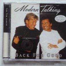 CDs de Música: MODERN TALKING,BACK FOR GOOD DEL 98. Lote 56033065