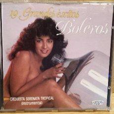 CDs de Música: ORQUESTA SERENATA TROPICAL. 19 GRANDES ÉXITOS. BOLEROS. CD / DIVUCSA - 1987. CALIDAD LUJO.. Lote 56042668