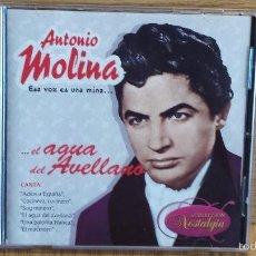 CDs de Música: ANTONIO MOLINA. ESA VOZ ES UNA MINA. CD / PARLOPHONE - 2006. 20 TEMAS / CD DE LUJO.. Lote 56045586