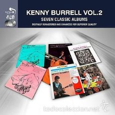 CDs de Música - KENNY BURRELL VOL. 2 SEVEN CLASSIC ALBUMS (4 CD JAZZ) - 56051650