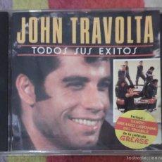 CDs de Música: JOHN TRAVOLTA (TODOS SUS EXITOS) CD 1991 * RARO. Lote 56052274