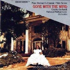 CDs de Música: CD - LO QUE EL VIENTO SE LLEVO - BANDA SONORA ORIGINAL. Lote 56053031