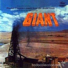 CDs de Música: CD - GIANT - BANDA SONORA ORIGINAL. Lote 56053053
