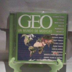 CDs de Música: CD VARIOS - GEO UN MUNDO DE MÚSICAS. Lote 56053663