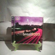 CDs de Música: CD CHILL: BRASIL2003. Lote 56080174