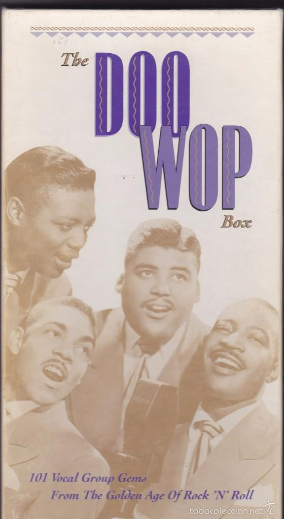 THE DOO WOP BOX - BOX SET, 4 CDS + LIBRETO (Música - CD's Rock)