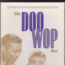 CDs de Música: THE DOO WOP BOX - BOX SET, 4 CDS + LIBRETO. Lote 56085160