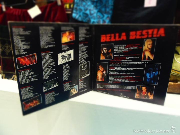 CDs de Música: BELLA BESTIA LISTA PARA MATAR LP - Foto 2 - 56086143