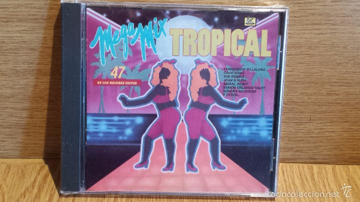 CDs de Música: MEGA MIX TROPICAL. CD / KUBANEY - 1991. LOS 47 MEJORES ÉXITOS. CD - PRECINTADO. - Foto 1 - 56086420