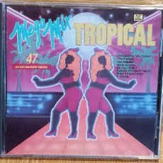 CDs de Música: MEGA MIX TROPICAL. CD / KUBANEY - 1991. LOS 47 MEJORES ÉXITOS. CD - PRECINTADO.. Lote 56086420