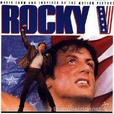 CDs de Música: CD - ROCKY V - BANDA SONORA ORIGINAL. Lote 56086671