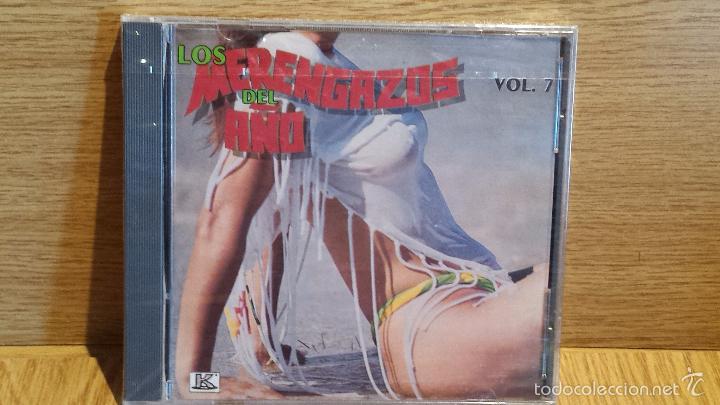 LOS MERENGAZOS DEL AÑO. VOL. 7 CD / KUBANEY-CANADÁ - 1990. 10 TEMAS / PRECINTADO. (Música - CD's Latina)