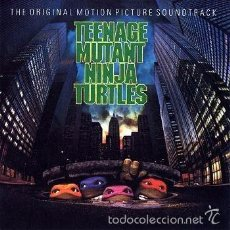 CDs de Música: CD - TEENAGE MUTANT NINJA TURTLES - BANDA SONORA ORIGINAL. Lote 56087128