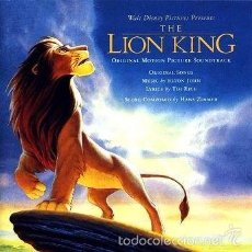 CDs de Música: CD - LION KING - BANDA SONORA ORIGINAL. Lote 56087148