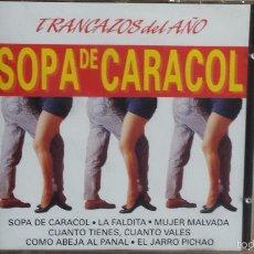 CDs de Música: TRANCAZOS DEL AÑO. SOPA DE CARACOL. CD / DIVUCSA - 1991. 12 TEMAS / CALIDAD LUJO.. Lote 56098196