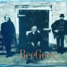 CDs de Música: BEE GEES / I COULD NOT LOVE YOU MORE (CD SINGLE CAJA PROMO 1997). Lote 56105347