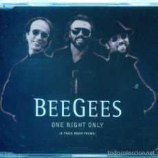 CDs de Música: BEE GEES / I ONE NIGHT ONLY (4 TRACK RADIO PROMO) WORDS / JIVE TALKIN' + 2 (CD SINGLE CAJA PROMO 98). Lote 56105387