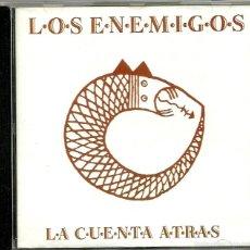 CDs de Música: LOS ENEMIGOS. LA CUENTA ATRAS (CD ALBUM 1991). Lote 56115717