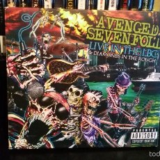 CDs de Música: AVENGED SEVENFOLD - LIVE AT THE LBC & DIAMONDS IN THE ROUGH - CD+DVD. Lote 56127238