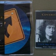 CDs de Música: COVERDALE PAGE: TAKE A LOOK AT YOURSELF, SINGLE PICTURE DISC LTD + TAKE ME FOR A LITTLE WHILE, CDSG . Lote 56144592