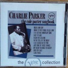 CDs de Música: CHARLIE PARKER. THE COLE PORTER SONGBOOK. CD /POLYGRAM - 12 TEMAS / CALIDAD LUJO.. Lote 56152314