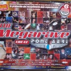 CDs de Música: THE MEGARAVE LIVE AT PONT AERI. EL RECOPILATORIO MÁS ESPECTACULAR. 3 X CD / TEMPO MUSIC / LUJO.. Lote 56160127