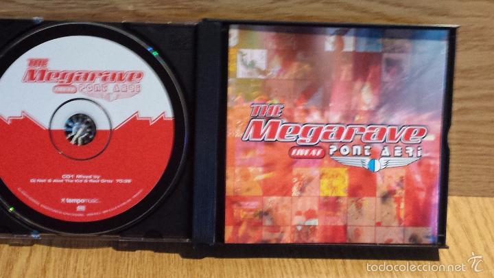 CDs de Música: THE MEGARAVE LIVE AT PONT AERI. EL RECOPILATORIO MÁS ESPECTACULAR. 3 X CD / TEMPO MUSIC / LUJO. - Foto 2 - 56160127