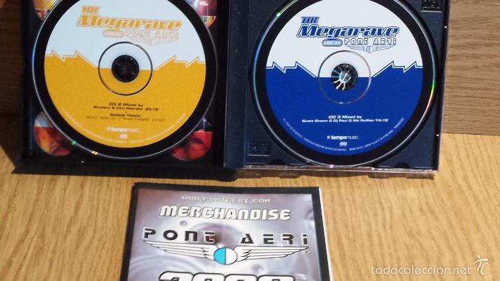 CDs de Música: THE MEGARAVE LIVE AT PONT AERI. EL RECOPILATORIO MÁS ESPECTACULAR. 3 X CD / TEMPO MUSIC / LUJO. - Foto 3 - 56160127