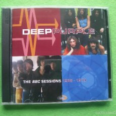 CDs de Música: DEEP PURPLE THE BBC SESSIONS 1968-1970 EMI BBC CD DOBLE MADE IN EU 2011 NUEVO¡¡¡. Lote 56167752