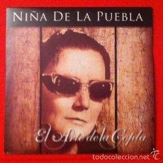 CDs de Música: NIÑA DE LA PUEBLA - EL ARTE DE LA COPLA - CD 12 TEMAS. Lote 56178571