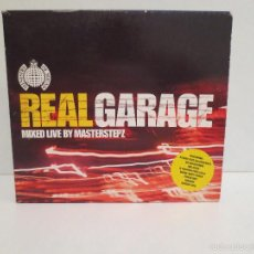 CDs de Música: DOBLE CD- REALGARAGE - MIXED LIVE BY MASTERSTEPZ. Lote 56179950