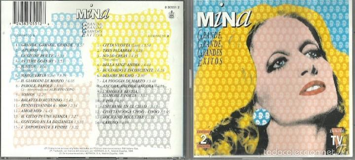 MINA CD DOBLE (2CDS) SELLO HISPAVOX AÑO 1994 EDITADO EN ESPAÑA (Música - CD's World Music)