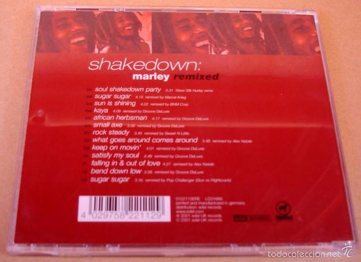 CDs de Música: SHAKEDOWN - MARLEY REMIXED (CD) 2001 - Foto 3 - 56185711