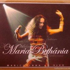 CDs de Música: MARIA BETHANIA - MARICOTINHA AO VIVO (2 CD DIGIPACK) 2002. Lote 56188948