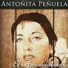 CDs de Música: ANTOÑITA PEÑUELA - EL ARTE DE LA COPLA - CD 12 TEMAS. Lote 56189025