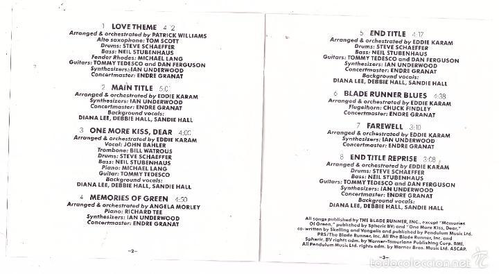 CDs de Música: CD Blade Runner (BSO) - Foto 3 - 56190760