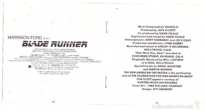CDs de Música: CD Blade Runner (BSO) - Foto 4 - 56190760