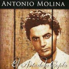 CDs de Música: ANTONIO MOLINA - EL ARTE DE LA COPLA - CD 12 TEMAS. Lote 56191754