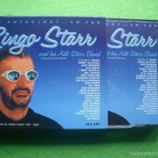 CDs de Música: RINGO STARR CD TRIPLE BOX AND HIS ALL STARR BAND THE ANTHOLOGY...SO FAR CAJA CON 3 CDS BEATLES. Lote 56192589