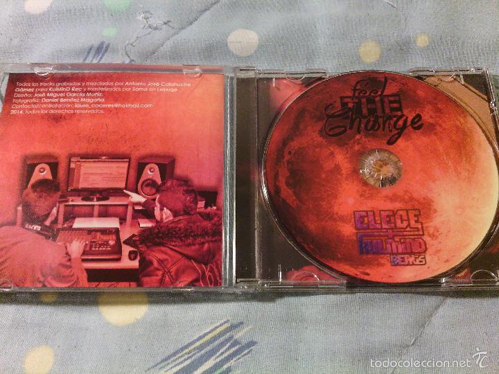 CDs de Música: CD MAQUETA Original ELECE & KULDMIND BEATS - FEEL THE CHANGE / RAP HIP HOP ESPAÑOL / RARO!!!!! - Foto 2 - 56203680
